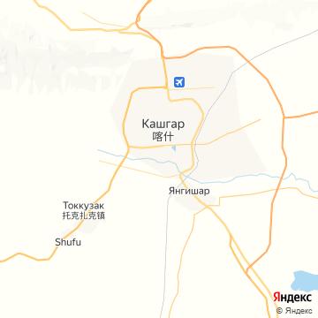 Карта Каш