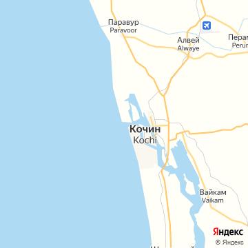 Карта Кочей