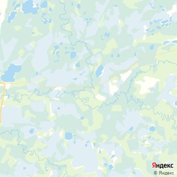 Карта Радужный