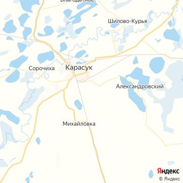 Карта Карасука