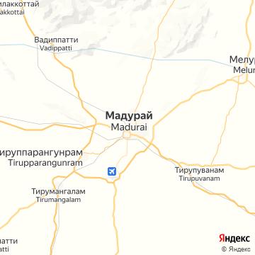 Карта Мадураев