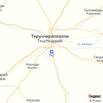 Карта Тиручираппали