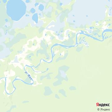 Карта Пуга-Юга