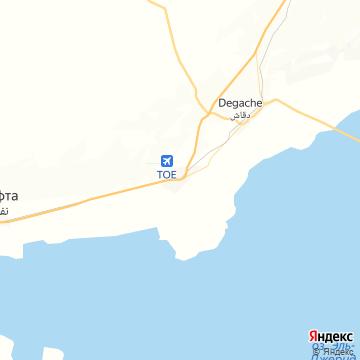 Карта Тозера