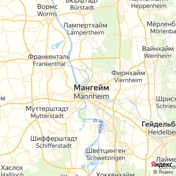 Карта Мангейма