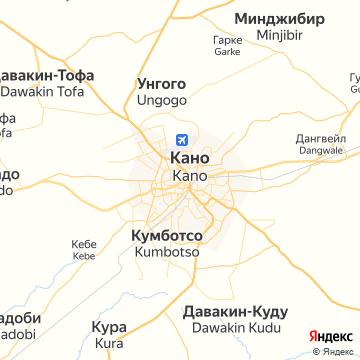 Карта Кано