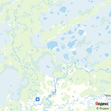 Карта Ларьяка