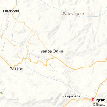 Карта Nuwara Eliya