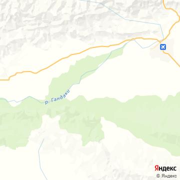 Карта Meghauli