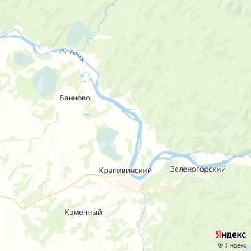 Карта Крапивино