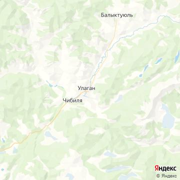 Карта Улагана