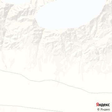 Карта Турфана