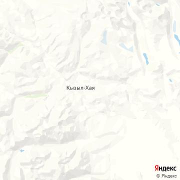 Карта Кызыла-Хаи