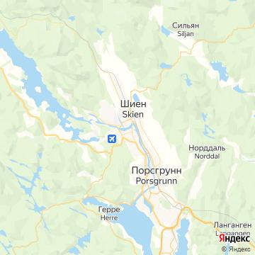 Карта Скиена