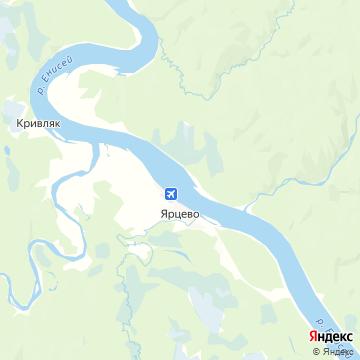 Карта Ярцево