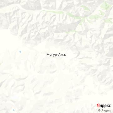 Карта Мугура-Аксов