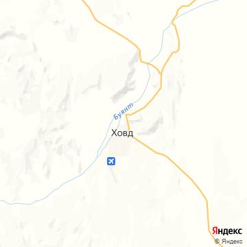 Карта Ховда