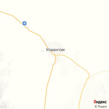 Карта Улаангома