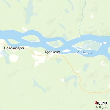 Карта Кулаково