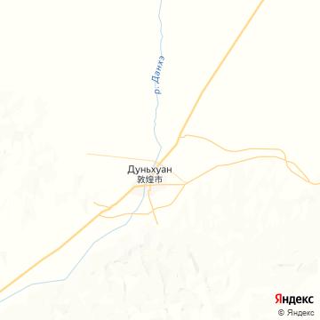 Карта Дунхуаня