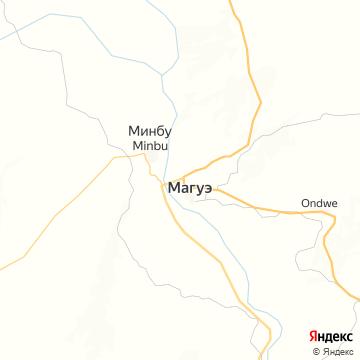Карта Магве