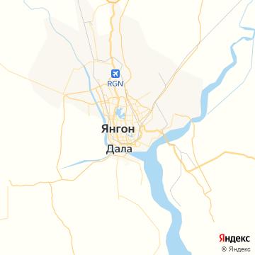 Карта Янгони