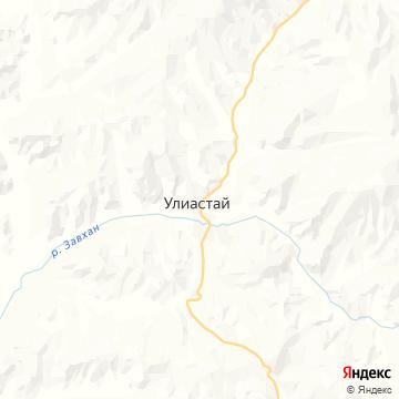 Карта Uliastai