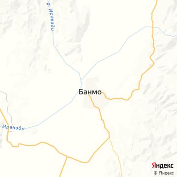 Карта Бамо
