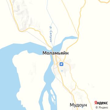 Карта Моламьяина