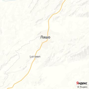 Карта Лашио