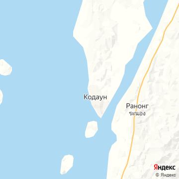Карта Котонга