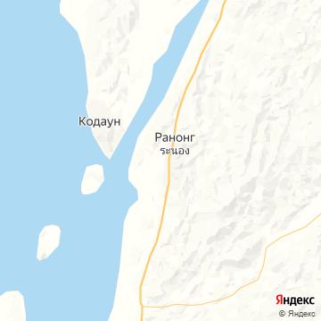 Карта Ранонга
