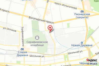 Санкт-Петербург, ул. Полевая Сабировская, д. 46, лит. А