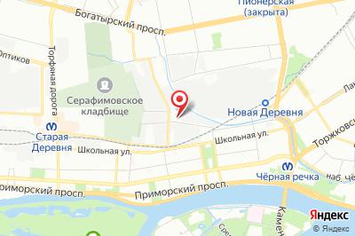 Санкт-Петербург, ул. Сабировская, д. 41, тер. АТП-31