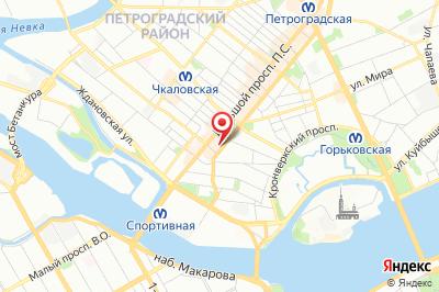 Санкт-Петербург, ул. Большая Пушкарская, д. 10, оф. 16 Б