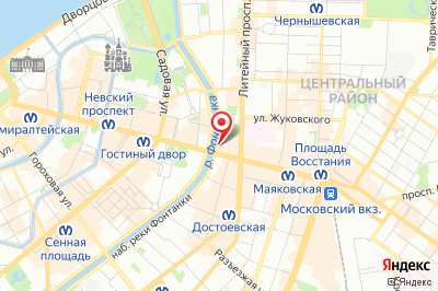 Санкт-Петербург, Наб.р.Фонтанки д.40