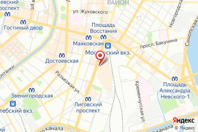 Санкт-Петербург, просп. Лиговский, д. 44, лит. Б