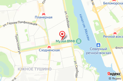 Москва, бул. Химкинский, д. 14, к. 1