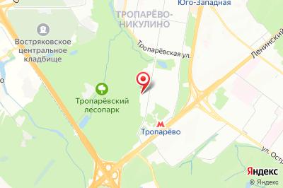 Москва, ул. Академика Анохина, д. 58, к. 2