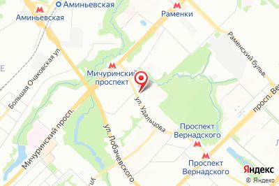 Москва, ул. Удальцова, д. 52