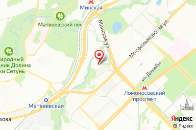 Москва, ул. Минская, д. 1Г, к. 4