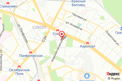 Москва, ул. Новопесчаная, д. 4, к. 1
