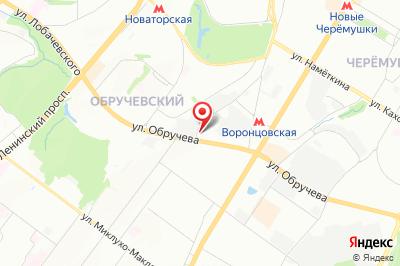 Москва, ул. Обручева, д. 23, к. 3