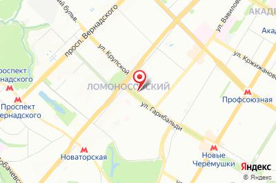 Москва, ул. Гарибальди, д. 3