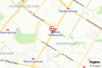Москва, ул. Профсоюзная, д. 60, к. 1