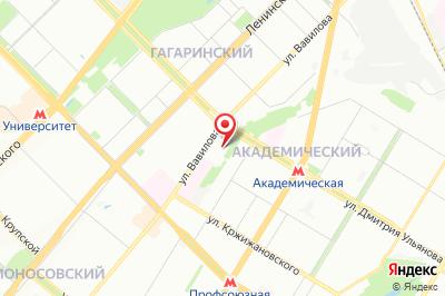 Москва, ул. Дмитрия Ульянова д. 6 к. 1