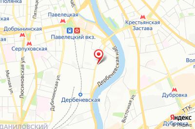 Москва, ул. Дербеневская, д. 9