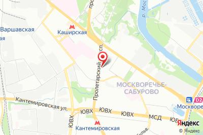Москва, пр-т Пролетарский, д. 3