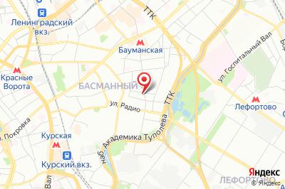 Москва, ул. Бауманская, д. 68/8, стр. 1