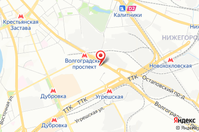 Москва, пр. Волгоградский, д.  32, к. 11, эт. 4